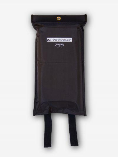 Sammutuspeitteen Suojapussi, musta, 120X180cm