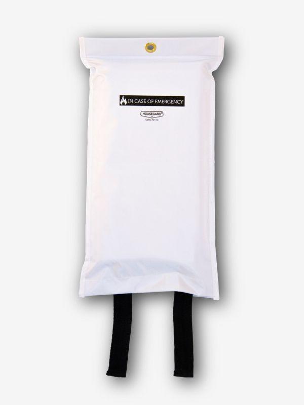 Sammutuspeitteen Suojapussi, valkoinen, 120X180cm